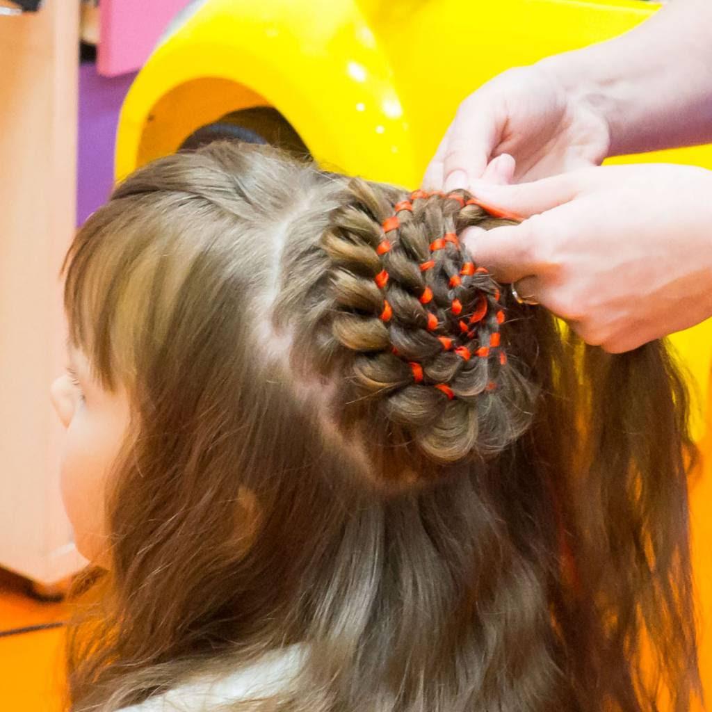 Сеть детских парикмахерских Воображуля