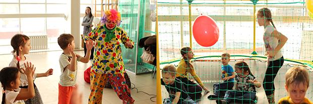 Площадка детских развлечений Чудо-городок
