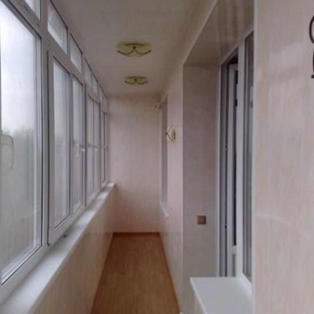 Варианты потолков на балконе, фото красивых отделок, а также.